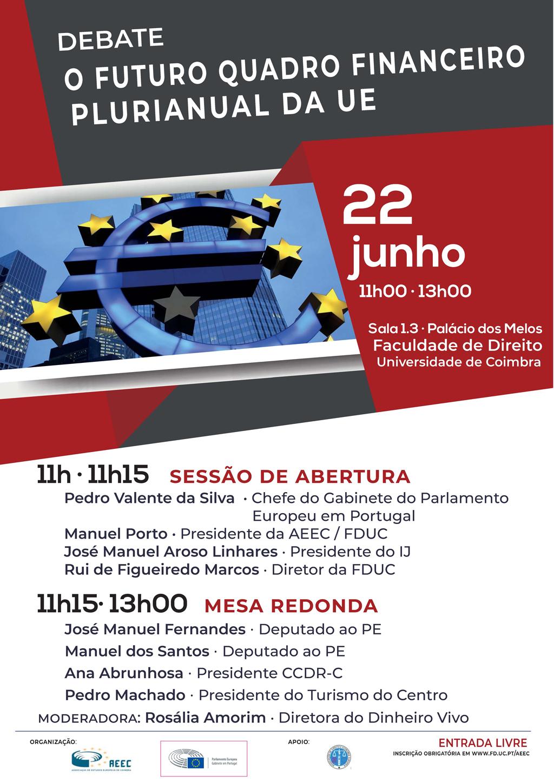 Debate  O Futuro Quadro Financeiro Plurianual da União Europeia