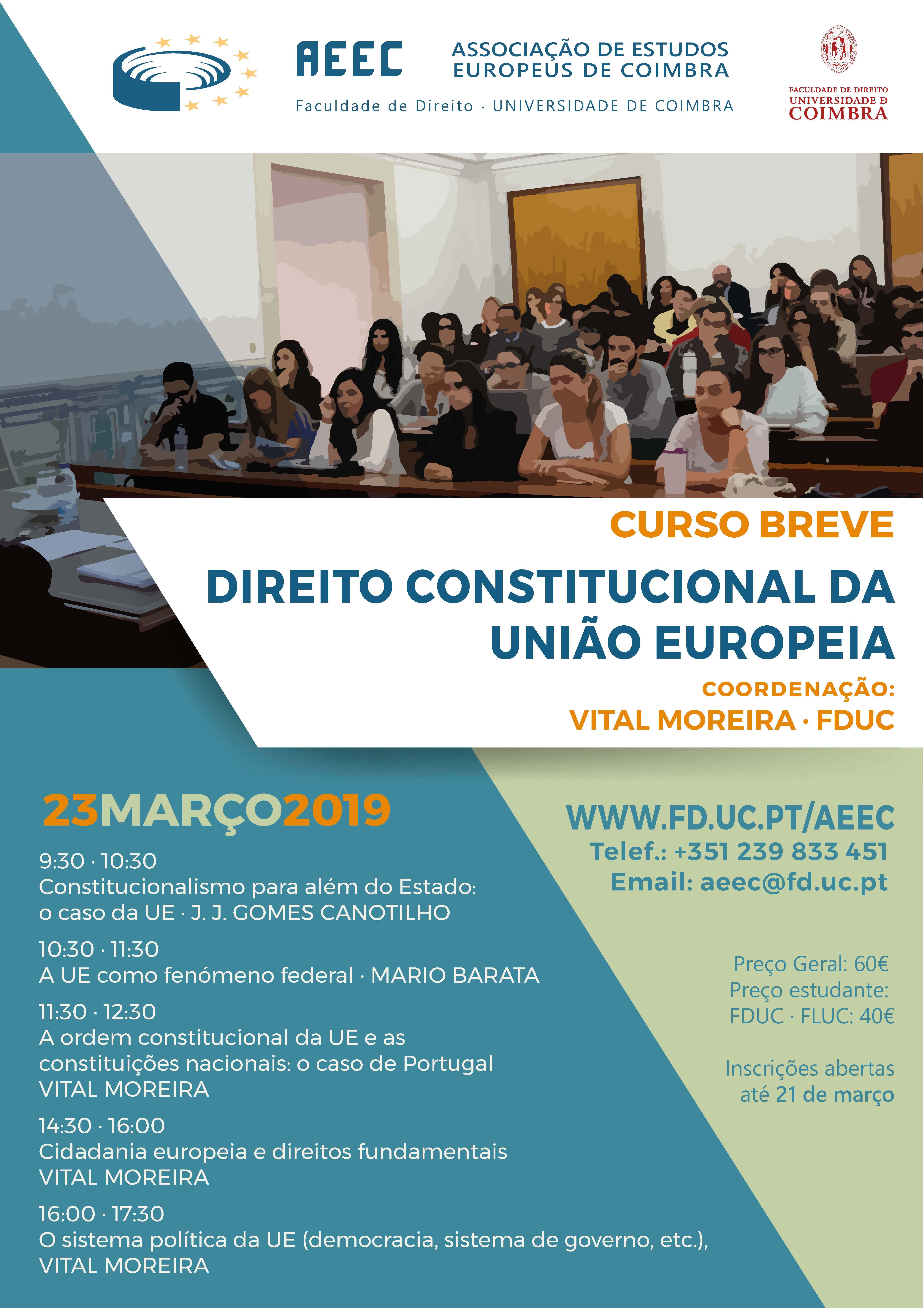 Curso Breve · Direito Constitucional da UE